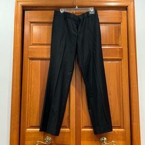 Classic wool straight leg black pant from J.Crew